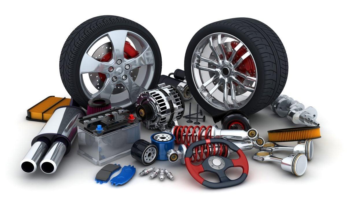 Salg av bildeler på nett